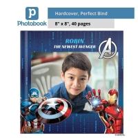 "Photobook Malaysia Small Square Imagewrap Hardcover Photobook (8"" x 8"")"