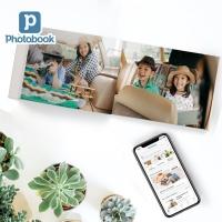 "[Photobook App Exclusive] 11"" x 8.5"" Medium Landscape Imagewrap Lay Flat Hardcover Photobook, 20pages"