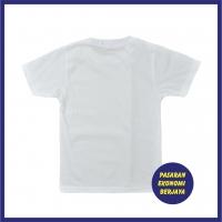 T-SHIRT BULAT LENGAN PENDEK PUTIH/ TSHIRT PUTIH/ WHITE SHIRT/ TSHIRT PLAIN/ WHITE PLAIN/ BAJU KOSONG PUTIH