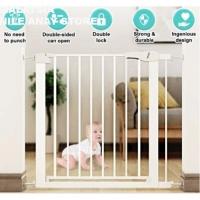 READY STOCK]🌹 PAGAR BESI KESELAMATN KANAK-KANAK WARNA PUTIH / BABY STEEL SAFETY GATE