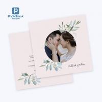"50pcs DIY Flat Wedding Invitation Cards - E Voucher (5"") [e-Voucher] Photobook"