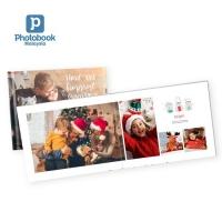 "Landscape Imagewrap Premium Lay Flat Photobook (11"" x 8.5"") [e-Voucher] Photobook"