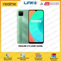 Realme C11 (2GB RAM + 32GB ROM) Smartphone - Original 1 Year Warranty by REALME Malaysia (MY SET)