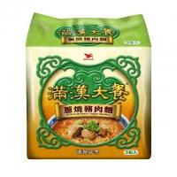 滿漢大餐 蔥燒豬肉麵(3包入)