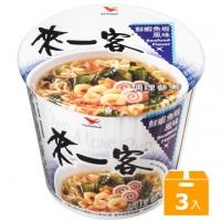 Come for a cup of noodles _ fresh shrimp fish plate flavor noodles (3 pieces/set)