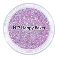 [Yen] Korean Unleashia gravel star career - gel flash bright eye shadow 7g N ° 7 Happy Baker