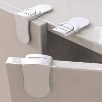 (89zone)89 zone baby door anti-pinch right angle lock/cabinet door lock 2 pcs