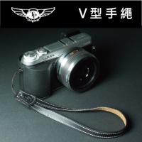 V-camera hand strap - black taste