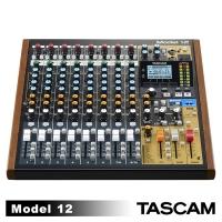 TASCAM Model 12 Multitrack Bluetooth Mixer USB Audio Interface