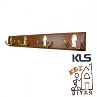 Wood Metal Horns hook