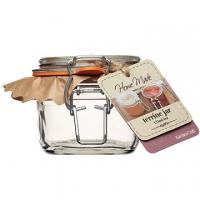 KitchenCraft 扣式密封玻璃罐(125ml)