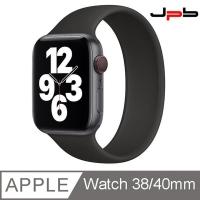[ JPB ] Apple Watch 錶帶 38/40mm 單圈錶環 - 黑色 - 4號 (147mm )