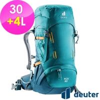 【德國deuter】FOX拔熱背包30+4L (3611121 湖藍/藍/登山/健行/窄肩)