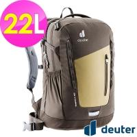 (deuter)[German deuter] StepOut Leisure Travel Backpack 22L (3813121 Coffee/Business/Commuter/Hiking)
