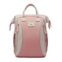 (heine)Heine Heine WIN-215 Mother Bag Backpack Storage Backpack-Rose Pink*Ivory