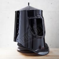 [TAITRA] OPUS LOFT Vintage Medieval Black Knight Helmet (With Stand) Ir80654