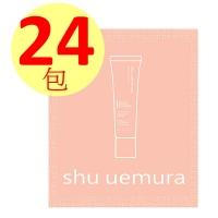 Shu Uemura Extremely Moisturizing Light Protection Milk (Pink 1ML)×24 packs SPF50 PA+++