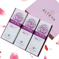 (alteya organics)【Alteya】Otto Rose Original Flower Dew Gift Box-with bag (240ml spray bottle x 3)