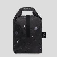 (agooday)Good day   Pockeat Eco Food Bag (Big Food Bag) Space Odyssey