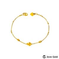 (Jovegold)Jove Gold Gold Heart Gold Bracelet
