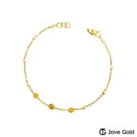 (Jove Gold)Jove Gold Petite Gold Bracelet