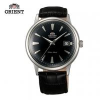 (ORIENT)ORIENT Orient Watch DATE II date mechanical watch black belt section FAC00004B - 40.5mm