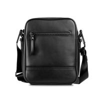 (VOVA)VOVA Duke Series Staff Straight Crossbody Bag (Noble Black)