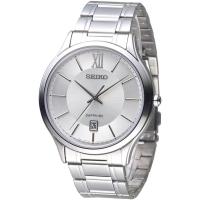(SEIKO)(SEIKO) Men's fashion watches intellectual elites (SGEH51P1) - silver white