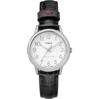 (TIMEX)[TIMEX] Easy Reader Series Simple Style Women's Watch (White/Black TXTW2R65300)