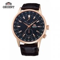 (ORIENT)ORIENT Orient Watch Series World Time WORLD TIME mechanical belt section SFA06001B rose gold - 43.5mm