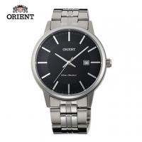 (ORIENT)ORIENT Orient Watch SLIM series of elegant sapphire crystal digital quartz watch men strip section FUNG8003B black - 40mm
