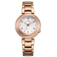 (citizen)CITIZEN L series of brilliant diamond light kinetic energy watch EM0583-84A