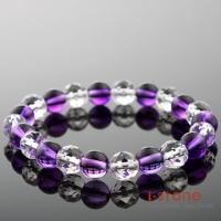 (i-stone)Stones Crystal Love - amethyst bracelet