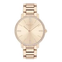 (coach)COACH elegant crystal diamond rose gold fashion watch 14503354