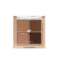 Korea Rom & nd romantic four-color eye shadow # 03 Dry Ragras 6.5g