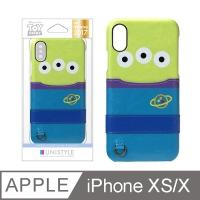 (pga-ijacket)[Japan PGA] iPhone XS/X 5.8 吋 Disney pocket phone case - three eyes strange