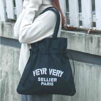 My Destiny Korean Fashion Korean Art Beam Side Backpack 65032 ((Black)