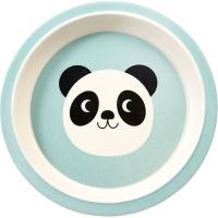Rex LONDON 竹纖維餐盤(熊貓21cm)