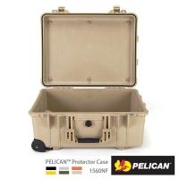 (PELICAN)PELICAN 1560NF Wheel Seat Tie Air Box - Empty Box (Desert Yellow)