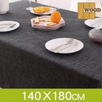 (LaVie Wood) Nice ☆ Low-key elegant waterproof thick cotton linen tablecloth (140 * 180cm)
