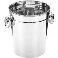 IBILI round handle stainless steel ice bucket (20cm)