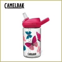 (camelbak)[CamelBak] 400ml eddy+ kids sports water bottle with straws-color butterfly