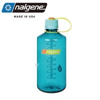 (nalgene)[United States Nalgene] 1000cc Narrow Mouth Water Bottle-Azure Blue