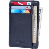 (Kinzd)Kinzd Anti-Theft ID Card Holder (Blue)