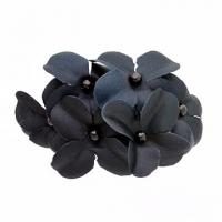 (charme)God Charme Korean pop multilayer Spring flower shape with a black banana clip