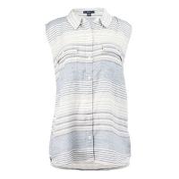 (truereligion)[United States True Religion] female sleeveless cool horizontal striped shirt