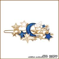 "(Akiko Sakai)""Akiko Sakai. ""Akiko"" sky track starry moon diamond hairpin-single color"