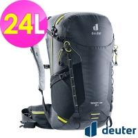 (DEUTER)[German deuter] SPEED LITE ultra-lightweight travel backpack 24L (3410421 black/cross-country/three railways/top)