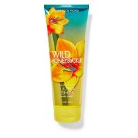 """Bath & Body Works BBW"" fragrance moisturizing body cream [wilderness] Honeysuckle Wild Honeysuckle 226g"