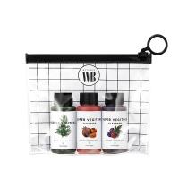 (Wonder Bath)[Korea Wonder Bath] Fruits and Vegetables Makeup Remover Cleanser Travel Set 30mlX3 Bottles